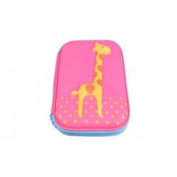 Peračník 1poschodový žirafa ružová