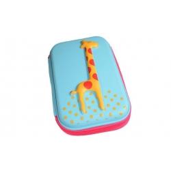 Peračník 1poschodový žirafa tyrkysová
