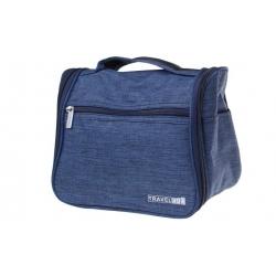 Kozmetická taška Travel Bag tmavo modrá