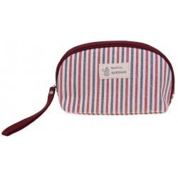 Kozmetická taška Handmade pruhovaná vzor 2