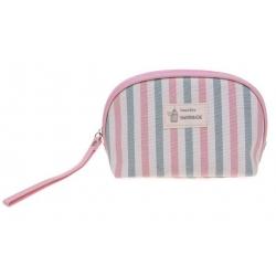 Kozmetická taška Handmade pruhovaná vzor 1