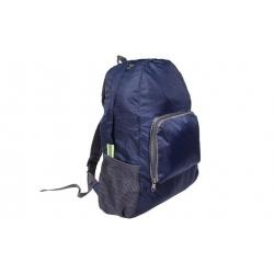 Skladací cestovný batoh tmavomodrý