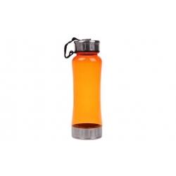 Fľaša na pitie oranžová