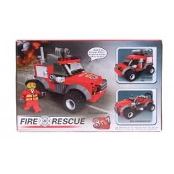 Detská stavebnica hasiči 3v1
