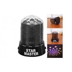 LED projektor s hviezdami