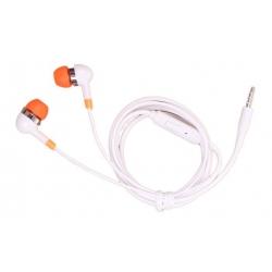 Káblové slúchadlá oranžová