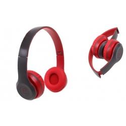 Hudobná slúchadlá P8047 červená