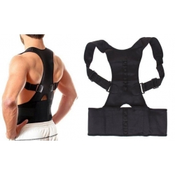 Magnetický rovnací pás na chrbát čierny vel.XXXL