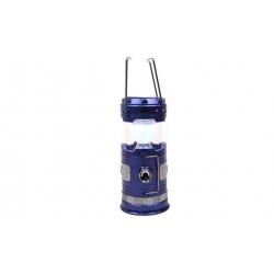 Solárne kempingový lampáš BF-3586 modrá