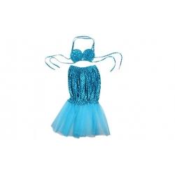 Kostým morská panna modrý