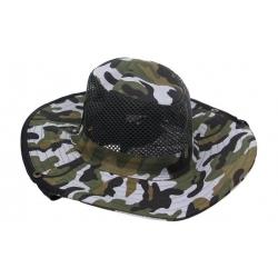 Rybársky klobúk maskáčový vzor 3