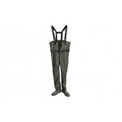 Brodiace nohavice prsačky zelené vel.43