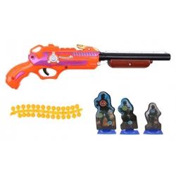 Detská guličková pištole oranžová