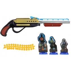 Detská guličková pištole žltá