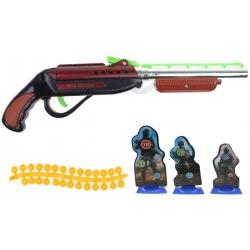 Detská guličková pištole červená
