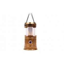 Solárne kempingový lampáš LL-5888 zlatá