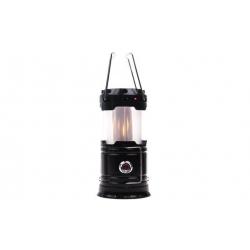 Solárne kempingový lampáš LL-5888 čierna