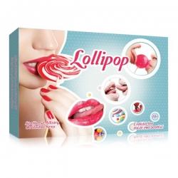 Erotická hra Lollipop-Orálne pohladenie