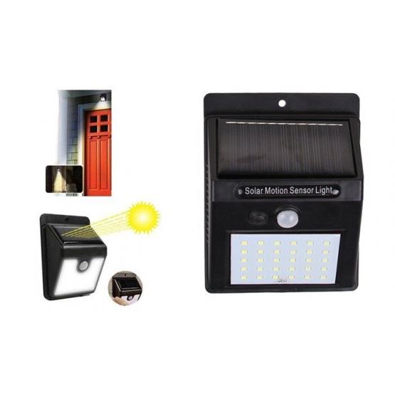 Solárne svetlo s detektorom pohybu 25 LED