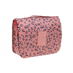 Kozmetická taška závěsná leopardí