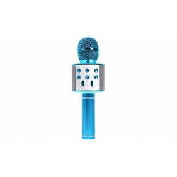 Karaoke mikrofón WS-858 modrý