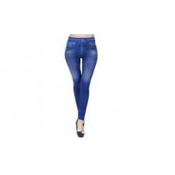 Sťahovacia džínsové legíny modré vel.L