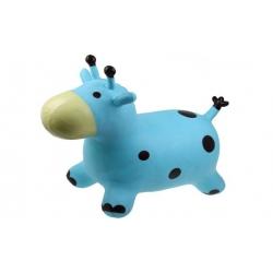 Hopsadlo pre deti - kravička modrá