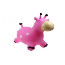 Hopsadlo pre deti - kravička ružová