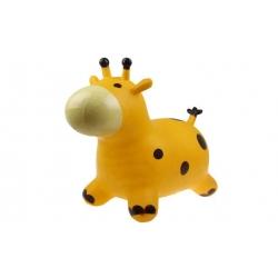 Hopsadlo pre deti - kravička žltá